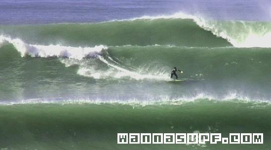 Surfer lacanau